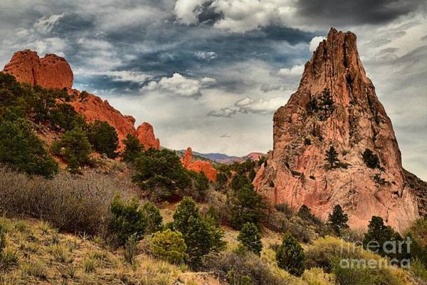 Photograph - Red And White Towers by Adam Jewell