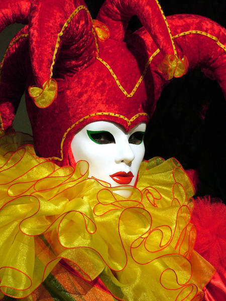 Photograph - Red And Yellow Jester by Donna Corless