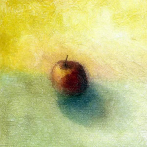 Wall Art - Painting - Red Apple No. 4 by Michelle Calkins