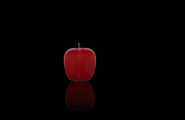 Buy Art Online Photograph - Red Apple by Steven Michael