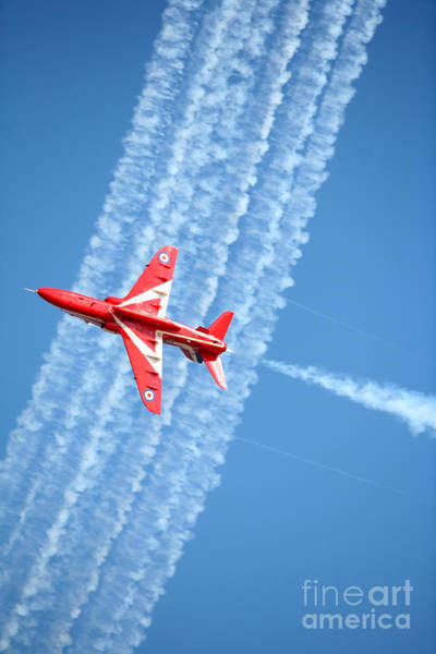 Photograph - Red Arrows At Lowestoft by Paul Cowan