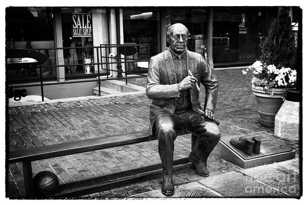 Photograph - Red At Faneuil Hall by John Rizzuto
