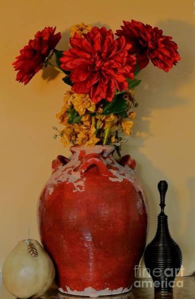 Azalia Photograph - Red Azalias by Marsha Heiken
