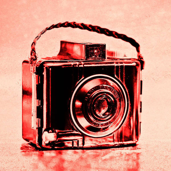 Warhol Photograph - Red Baby Brownie Special by Jon Woodhams