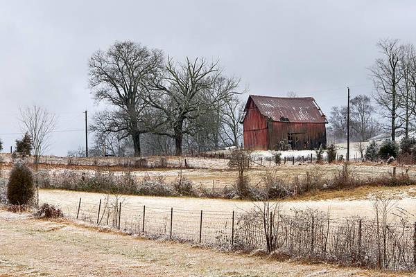 Photograph - Red Barn by Carol Erikson