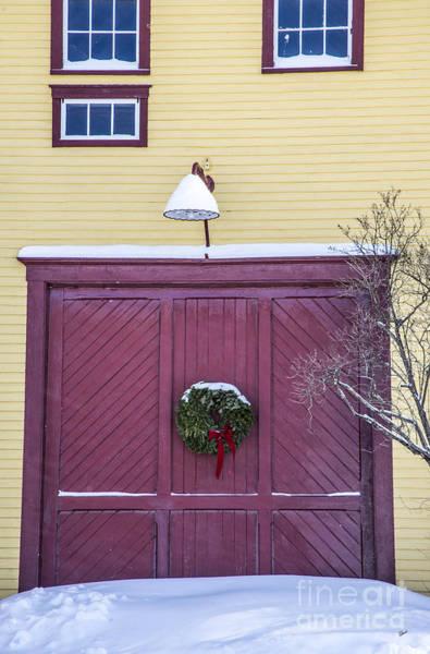Photograph - Red Barn Door by Alana Ranney