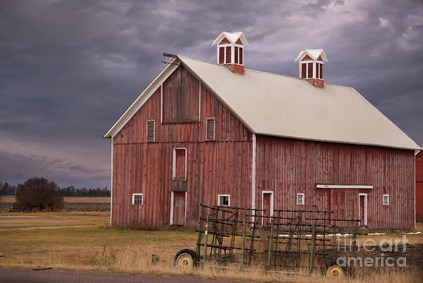 Photograph - Red Barn  by Juli Scalzi