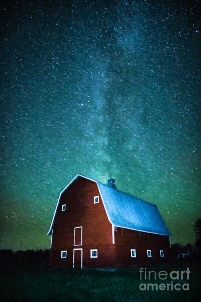 Photograph - Red Beauty's Milky Way by Lori Dobbs