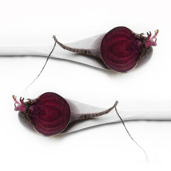 Beet Wall Art - Photograph - Red Beets by Priska Wettstein