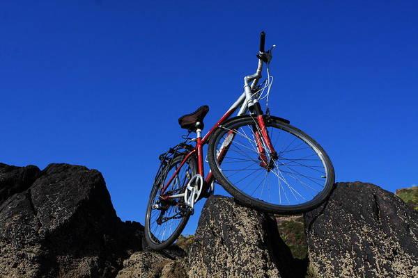 Photograph - Red Bicycle by Aidan Moran