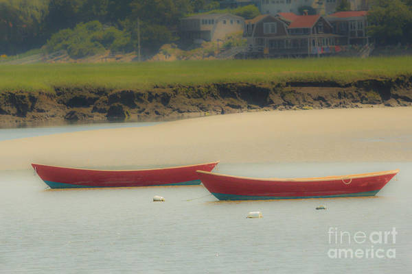 Photograph - Red Boats by George DeLisle