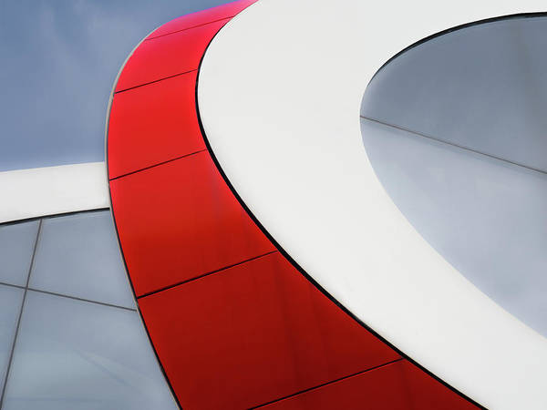 Curve Wall Art - Photograph - Red Bow by Luc Vangindertael (lagrange)