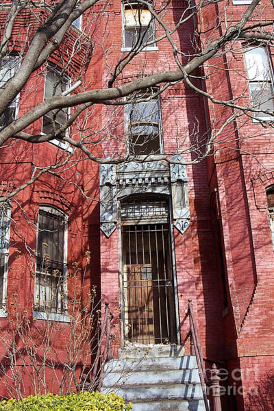 Photograph - Red Brick Roll House by Walter Neal