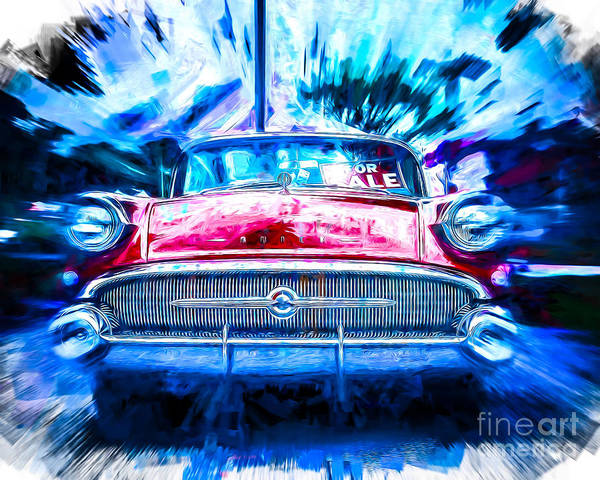 Wall Art - Photograph - Red Buick  by Perry Webster