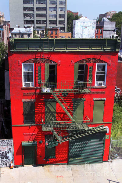 Photograph - Red Building by Steven Spak