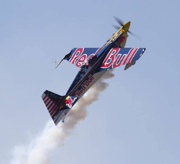 Photograph - Red Bull Stunt Plane by Nathan Rupert