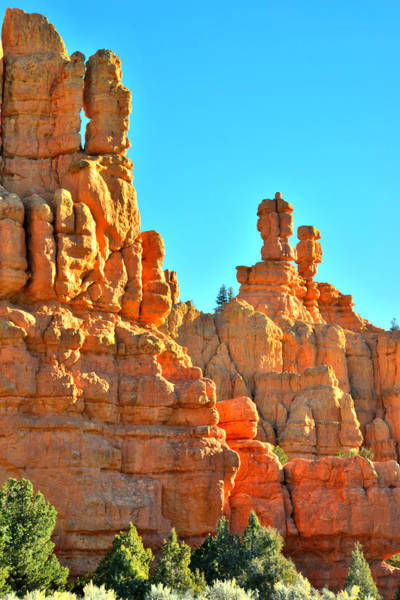 Highway 12 Wall Art - Photograph - Red Canyon Castle by Ray Mathis