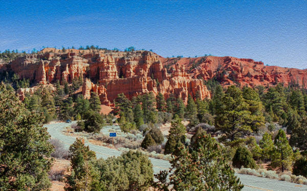 Photograph - Red Canyon State Park by John M Bailey