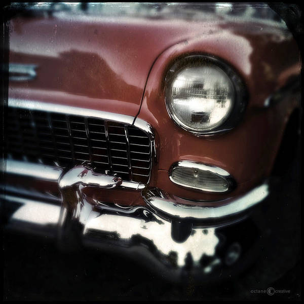 Photograph - Red Chevy by Tim Nyberg