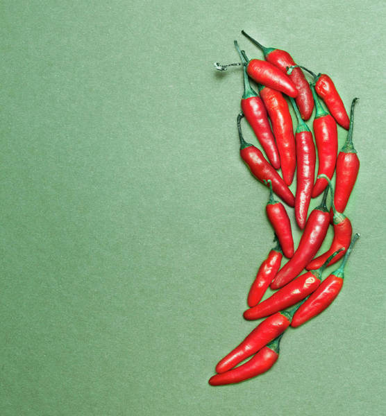Vitality Photograph - Red Chili Peppers by Henrik Sorensen