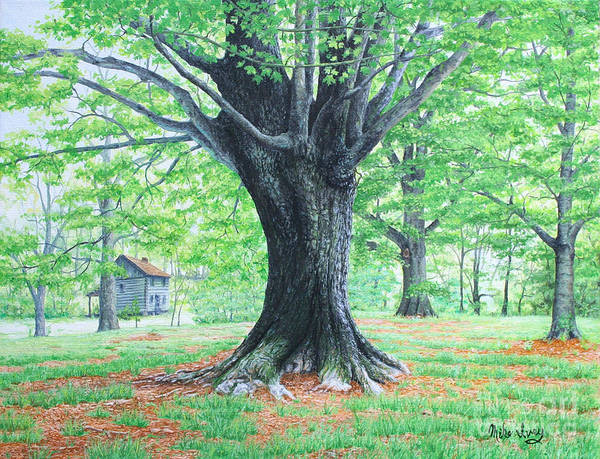 Painting - Red Clay Tennessee by Mike Ivey