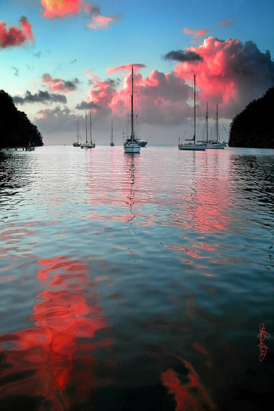 Photograph - Red Clouds by Renee Sullivan