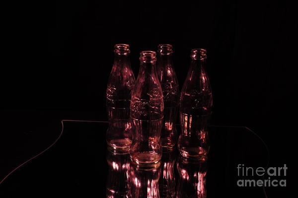 Photograph - Red Coke Bottles by Randi Grace Nilsberg
