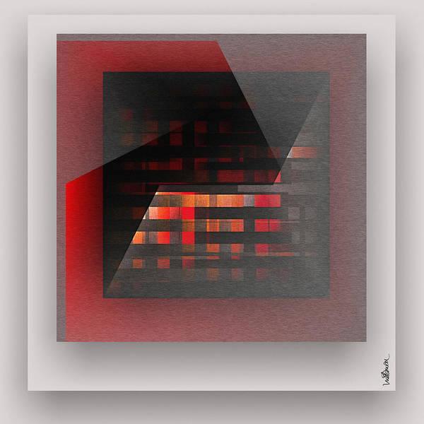 Wall Art - Digital Art - Red Color Wrap by Mihaela Stancu