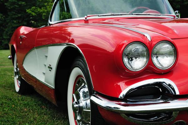 Photograph - Red Corvette by John Kiss