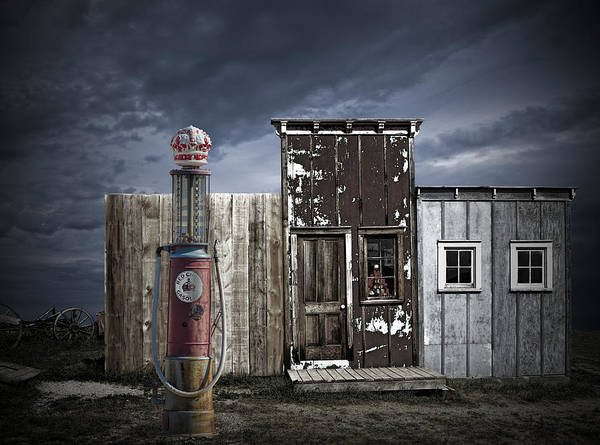 Photograph - Red Crown Gas by Randall Nyhof