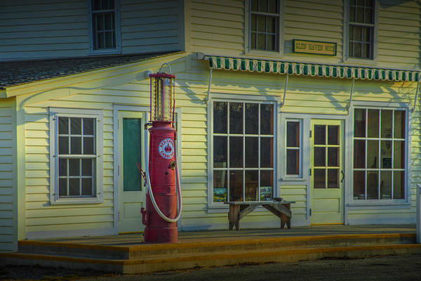 Photograph - Red Crown Vintage Gasoline Pump by Randall Nyhof