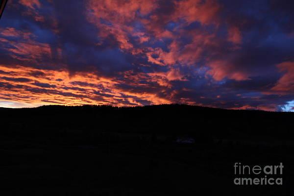 Photograph - Red Dawn by Ann E Robson