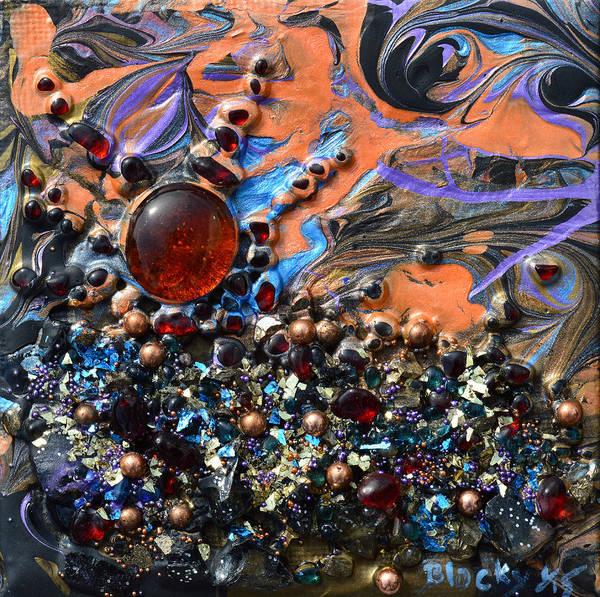 Wall Art - Mixed Media - Red Dawn by Donna Blackhall