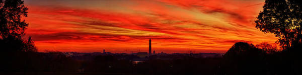 Photograph - Red Dawn by Metro DC Photography