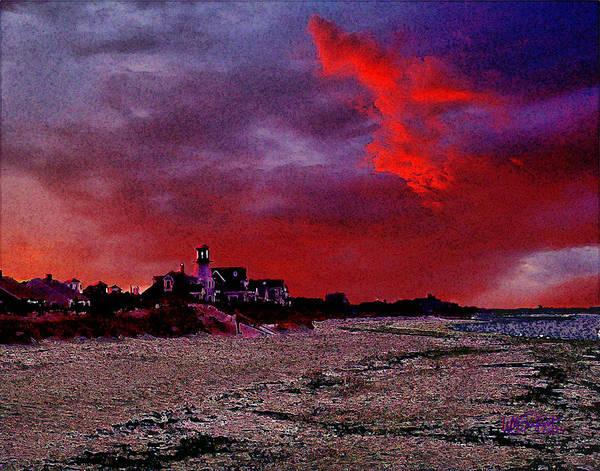 Digital Art - Red Dawn by William Sargent