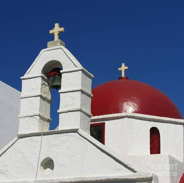 Photograph - Red Dome Church 2 by Mel Steinhauer