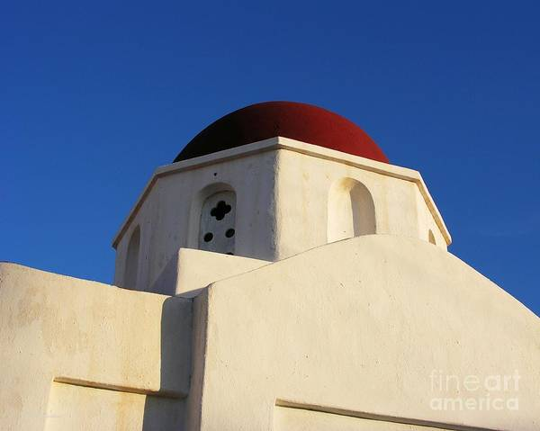 Photograph - Red Dome Church 3 by Mel Steinhauer