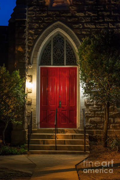 Photograph - Red Door by Dale Powell