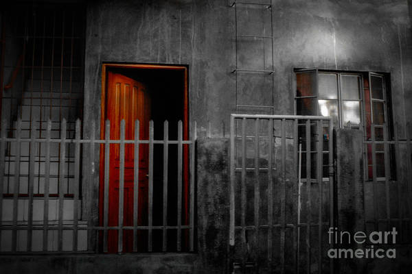 Photograph - Red Door by Michael Arend