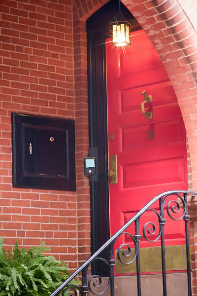 Photograph - Red Door by Natalie Rotman Cote