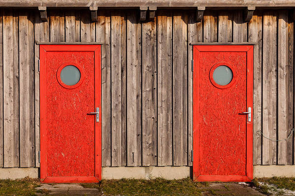 Photograph - Red Door Or Red Door by Andy Bitterer