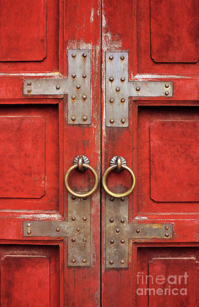 Photograph - Red Doors 01 by Rick Piper Photography