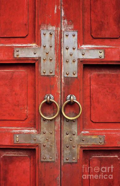 Red Doors 01 Art Print