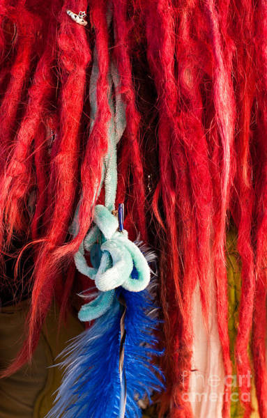 Dred Photograph - Red Dreads by Rick Piper Photography
