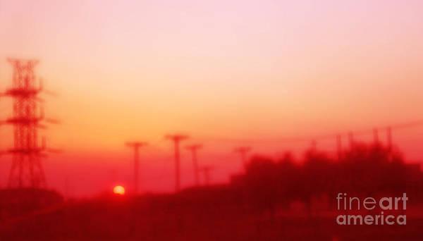 Photograph - Red Dusk by Elena Nosyreva