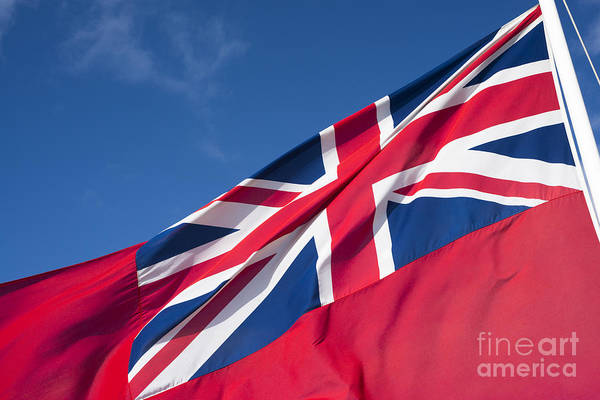 Photograph - Red Ensign by Anne Gilbert