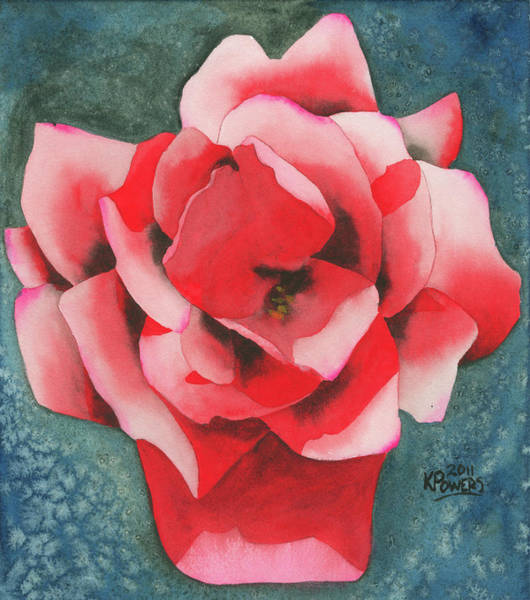 Painting - Red Flower Two by Ken Powers