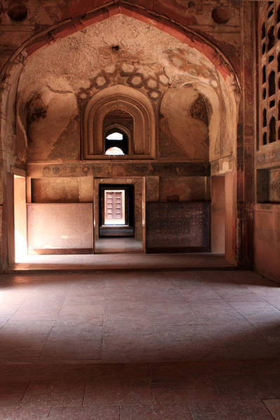 Photograph - Red Fort Agra India by Aidan Moran