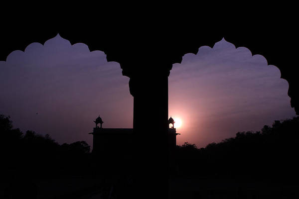 Photograph - Red Fort Arches - New Delhi - India by Aidan Moran