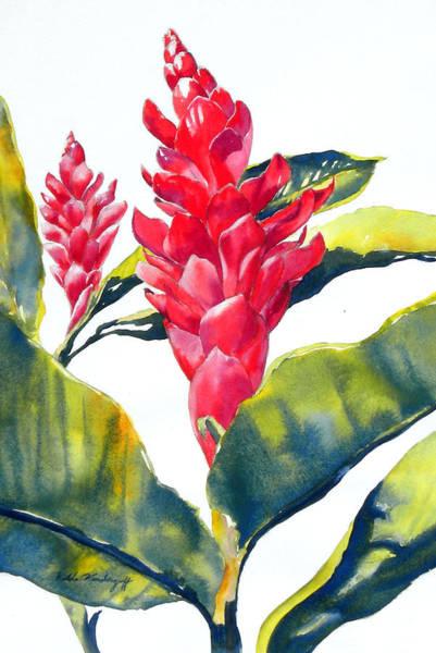 Painting - Red Ginger by Hilda Vandergriff